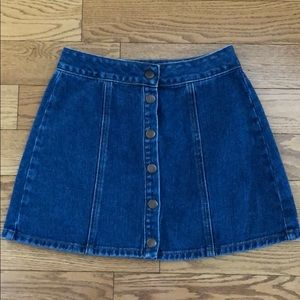 BRANDY MELVILLE DENIM SKIRT SZ 25 XS S